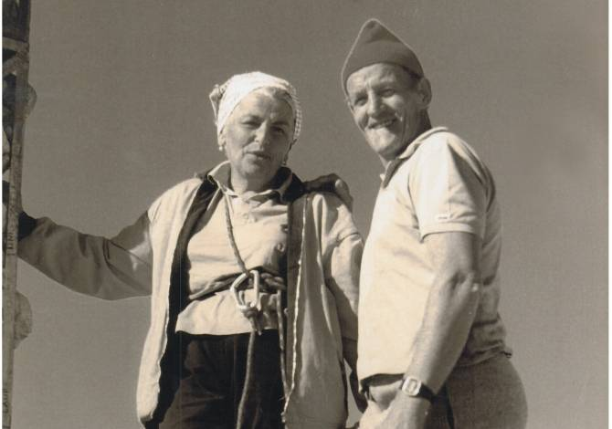 Nonna Paola e Nonno Carlo Pellegrin