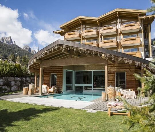 Te Jaga SPA with outdoor pool