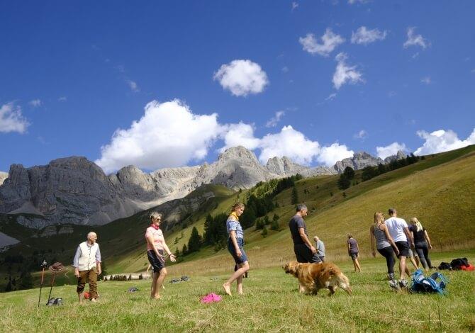 Passeggiate sulle Dolomiti