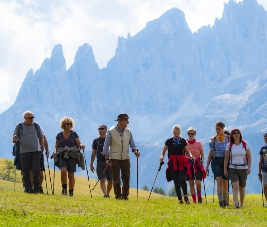 Nordic Walking im Trentino