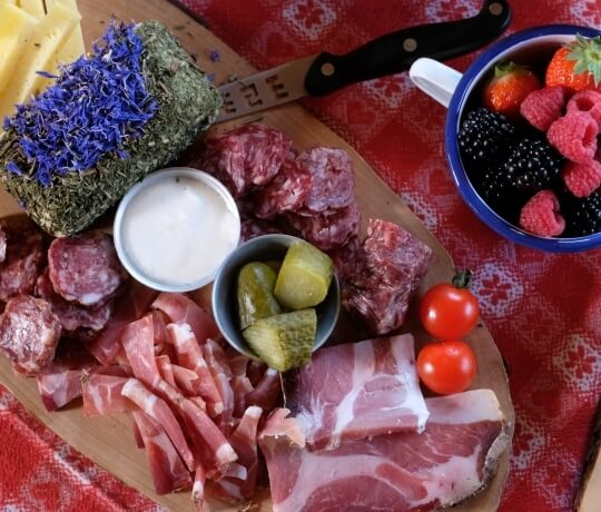 Cured meats of the Val di Fassa
