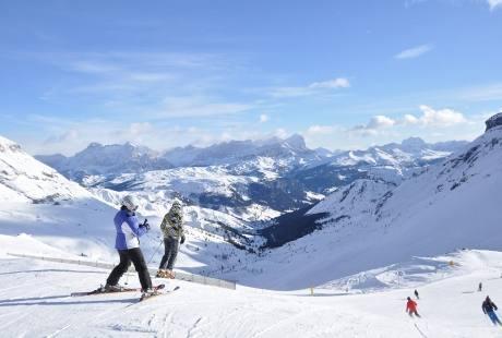 Sci tour delle Dolomiti