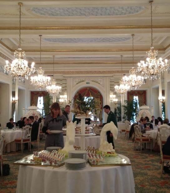 Buffet nella Sala Meazza