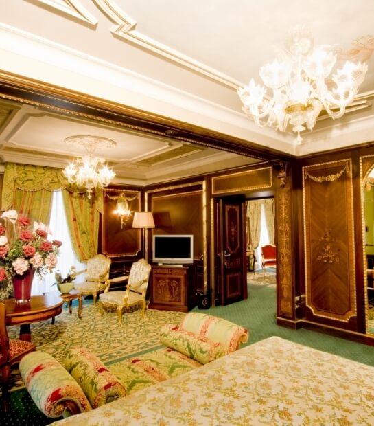 Camera da letto Imperial Suite