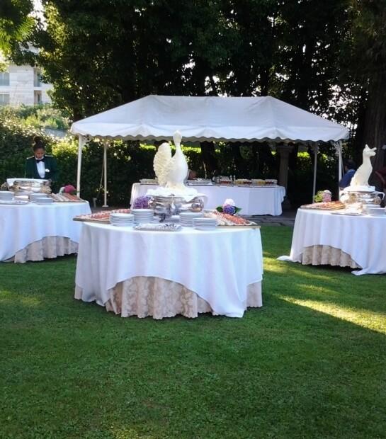 Tavolo con ornamento di Pavone