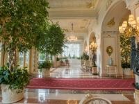 Arredamento di lusso nella Hall
