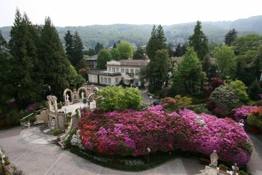Vista del Parco in fiore