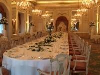 Tavolo Reale nella sala Meazza