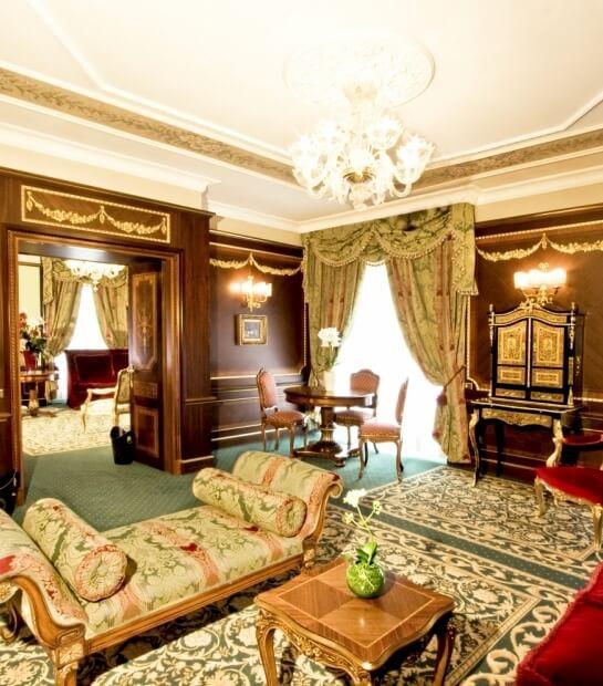 Salotto dell'Imperial Suite