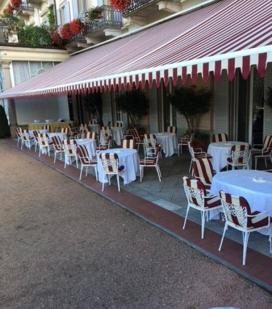 Terrazza comune della Sala Magnolia