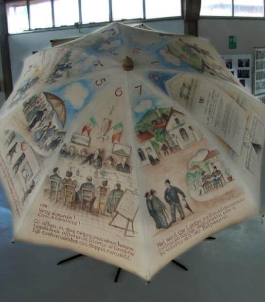 Ombrello decorato