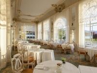 Raffinatezza ed eleganza della sala ristorante