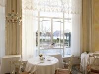 Vista sul lago Maggiore dal ristorante