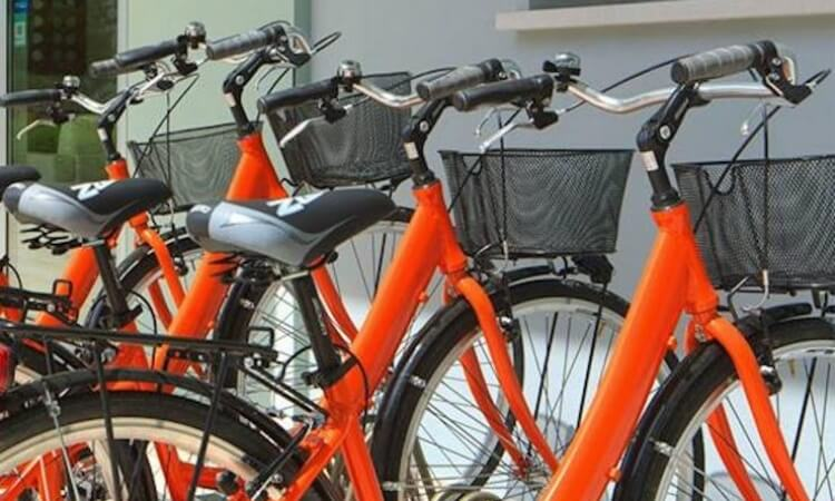 Servizio biciclette dell'hotel