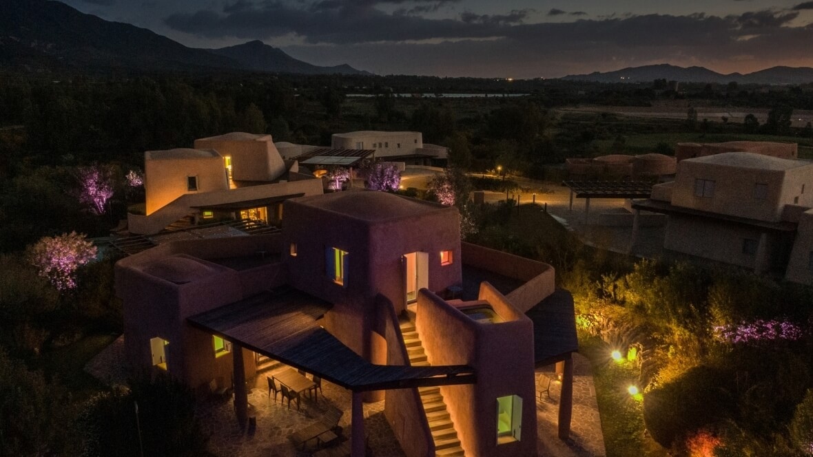 Villa Arenada - Vista panoramica notturna