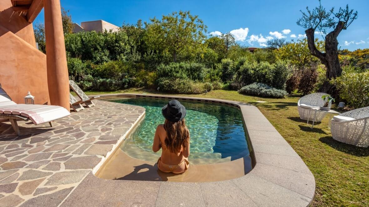 Villa Arenada - Giardini e piscina
