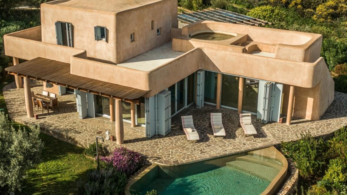 Villa Luxi - vista panoramica