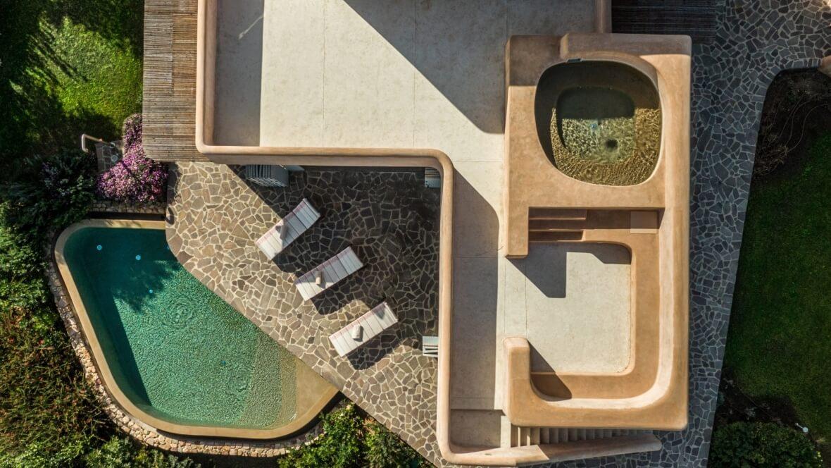 Villa Luxi - Vista dall'alto