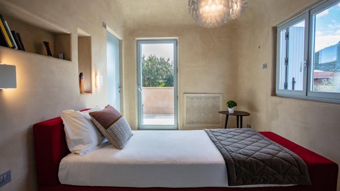Villa Luxi - Camera da letto