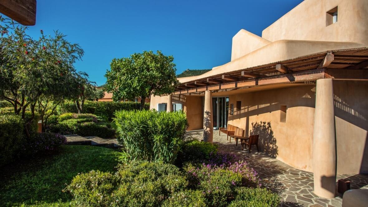 Villa Nea - Vista esterna giardini