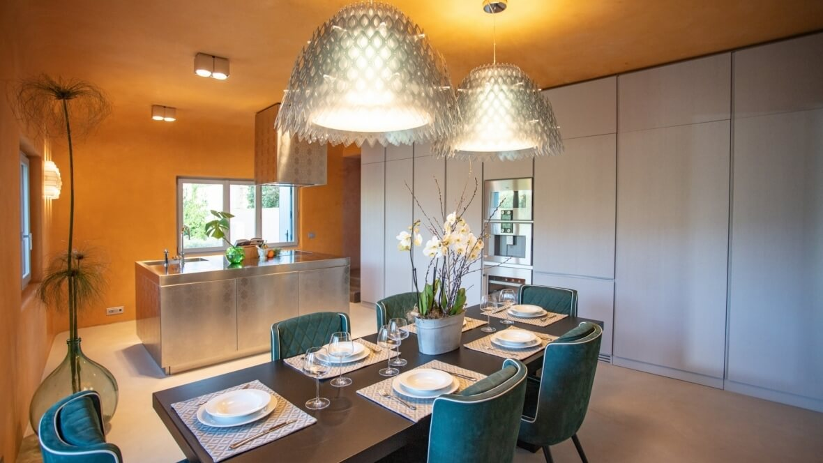 Villa Nea - Cucina e sala pranzo
