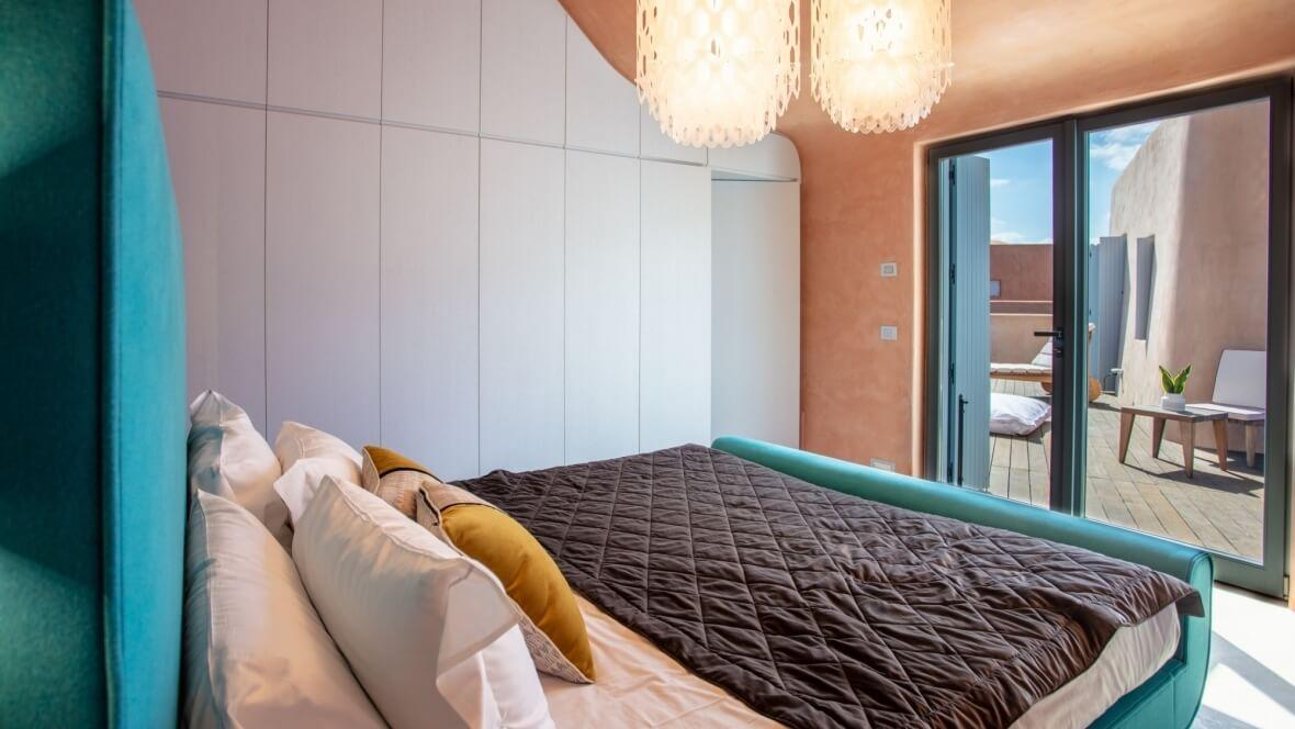 Villa Nea - Camera da letto