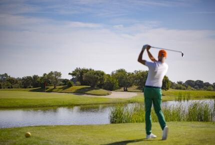 Campo da golf 27 buche con vista mare