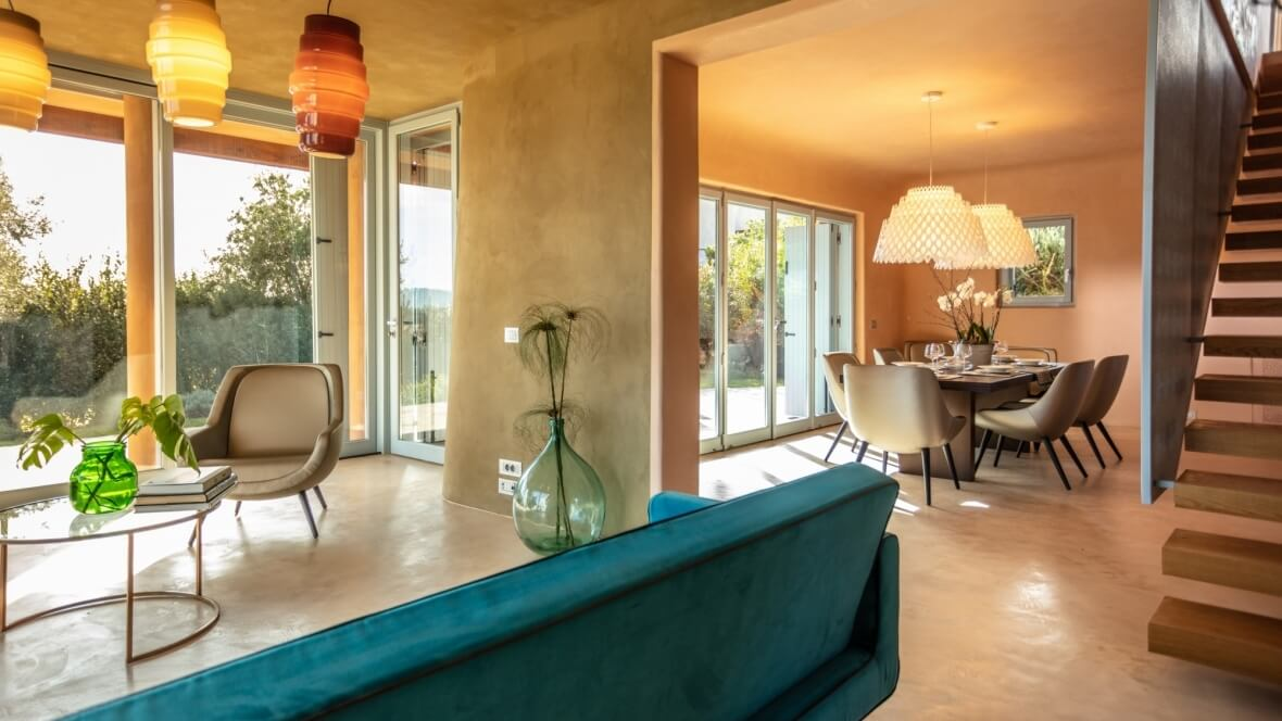 Villa Luxi - Living
