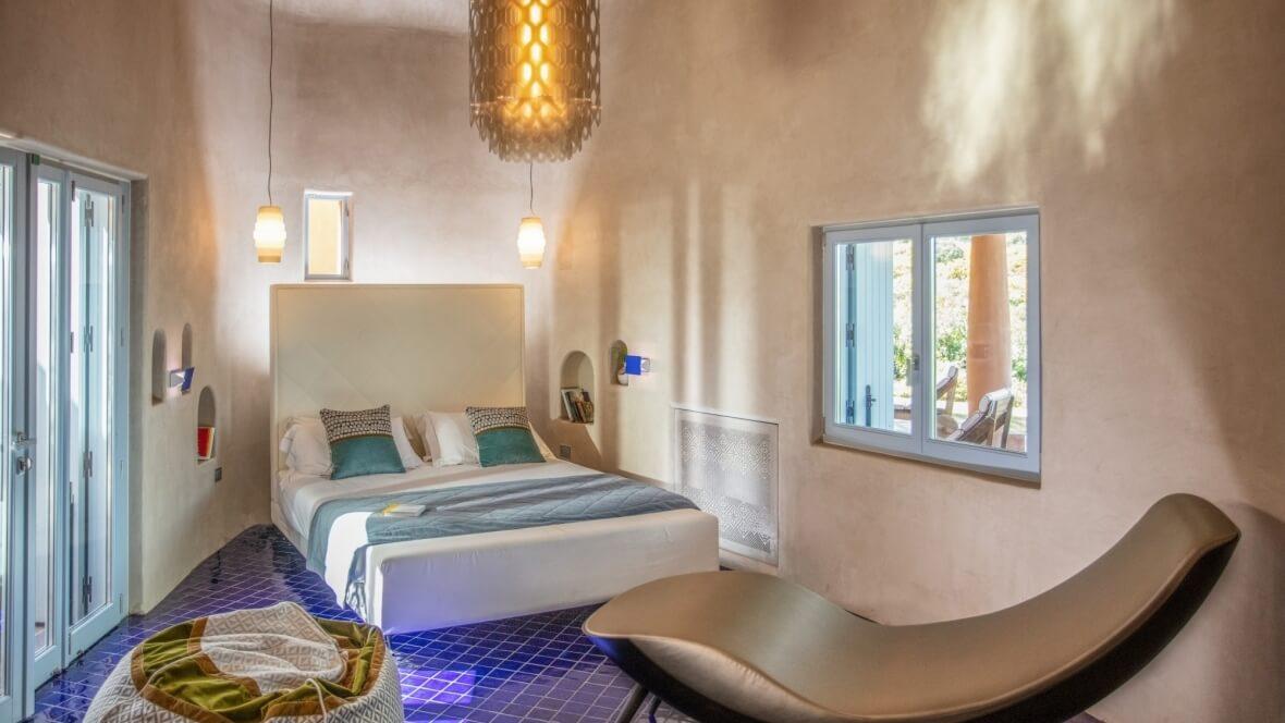 Villa Palas - Camera da letto