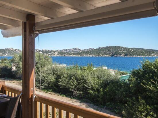 Vista Mare dalla Veranda della Natural Junior Suite