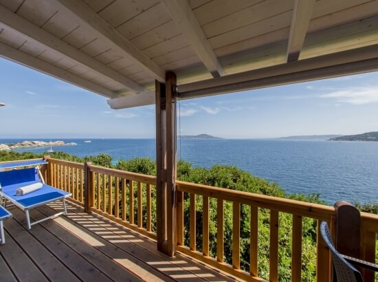 Sea View from the Veranda of the Paradise Suite Skyline Luxury Bungalow