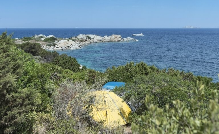 Tente au Camping Isola dei Gabbiani