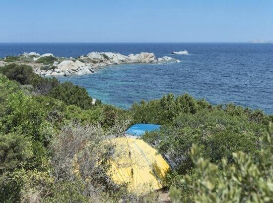 Tenda nel Campeggio Isola dei Gabbiani