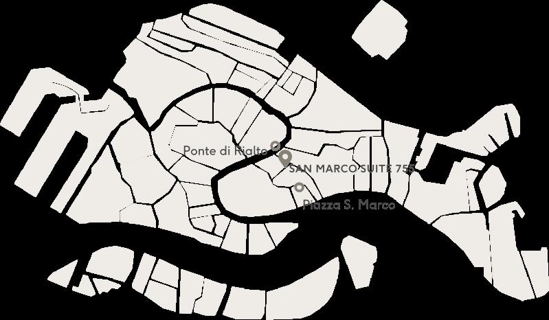 San Marco Suite Map
