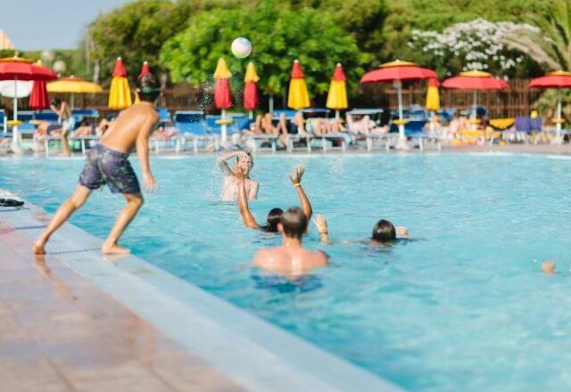 Sport acquatici al Camping Torre del Porticciolo
