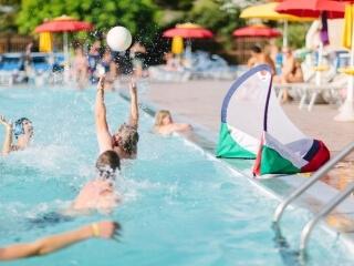 Sporten in het zwembad