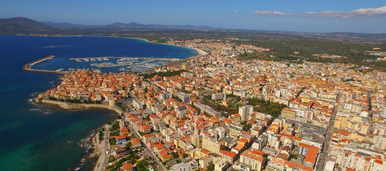 Panoramica su Alghero