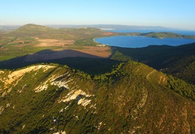 Gipfel des Mount Timidone