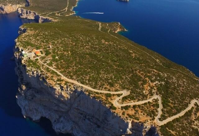 Mediterrane Vegetation am Capo Caccia