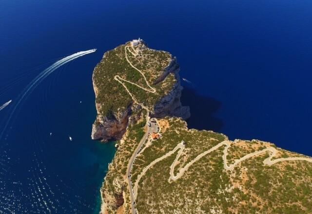 Ostseite von Capo Caccia