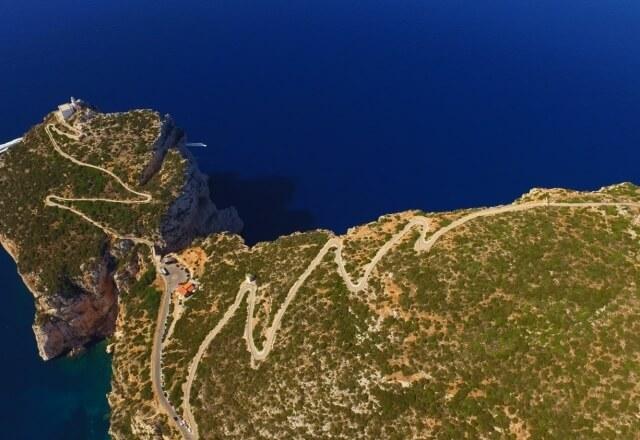 Panoramastraße zum Capo Caccia