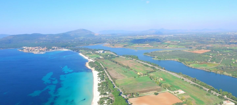 Calich e della spiaggia di Maria Pia