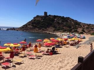 Strand van de Torre del Porticciolo
