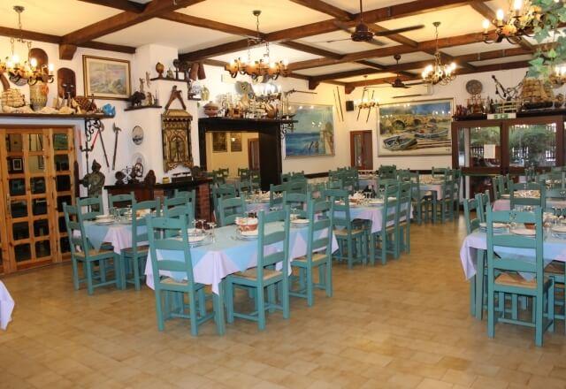 Panoramica sulla sala ristorante