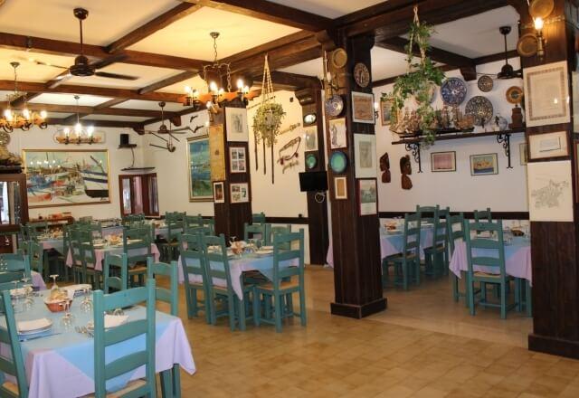 Angolo della sala ristorante