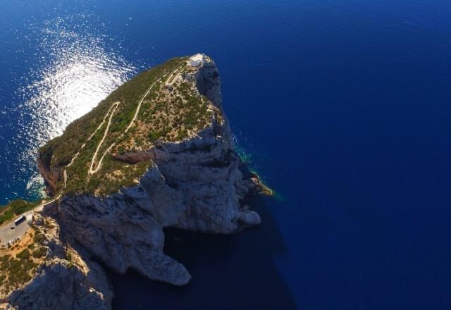 Vorgebirge von Capo Caccia