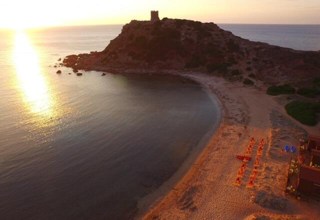 Sunset Torre del Porticciolo
