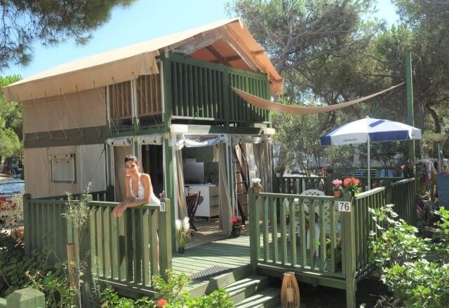 Glamping Sardegna | Lodge Tent Airsuite