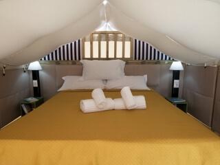 Camera da letto Glamping